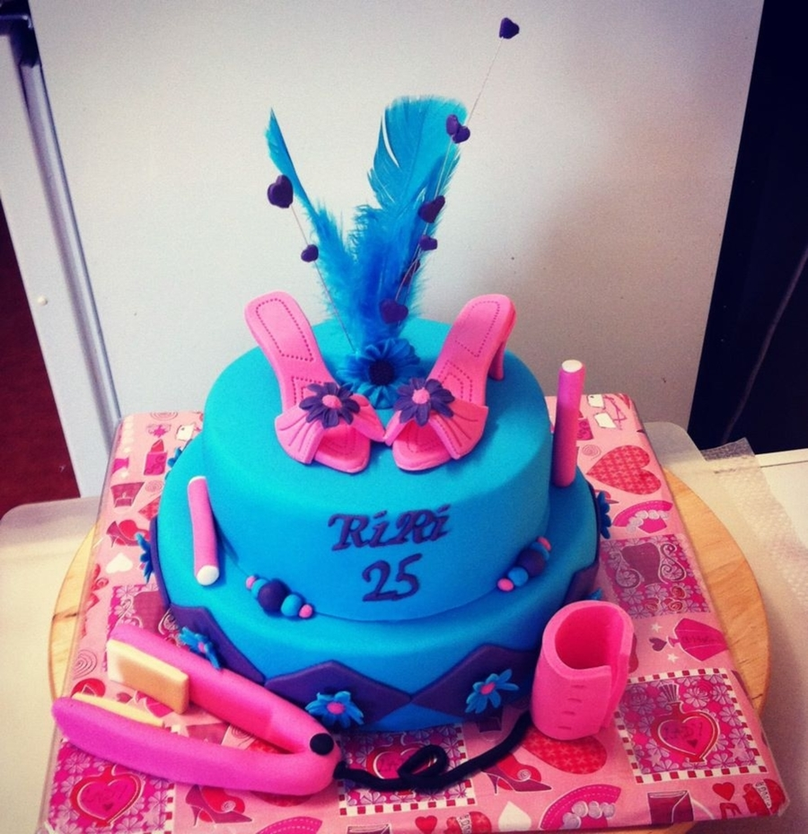 Hairdresser Cake on Cake Central