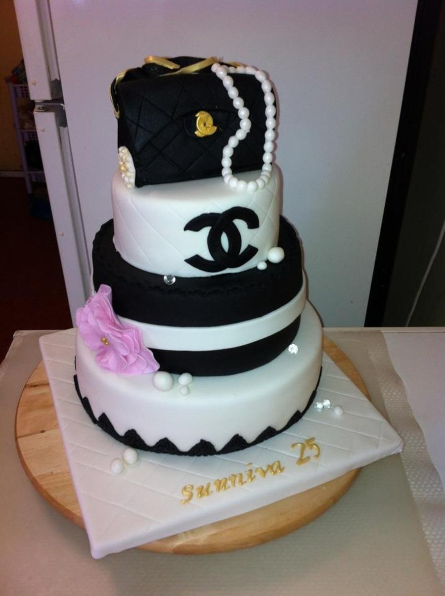 Chanel Birthday Cake Ideas
