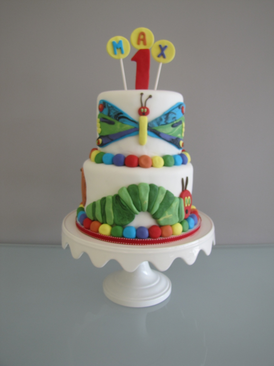 Hungry Caterpillar Cake on Cake Central