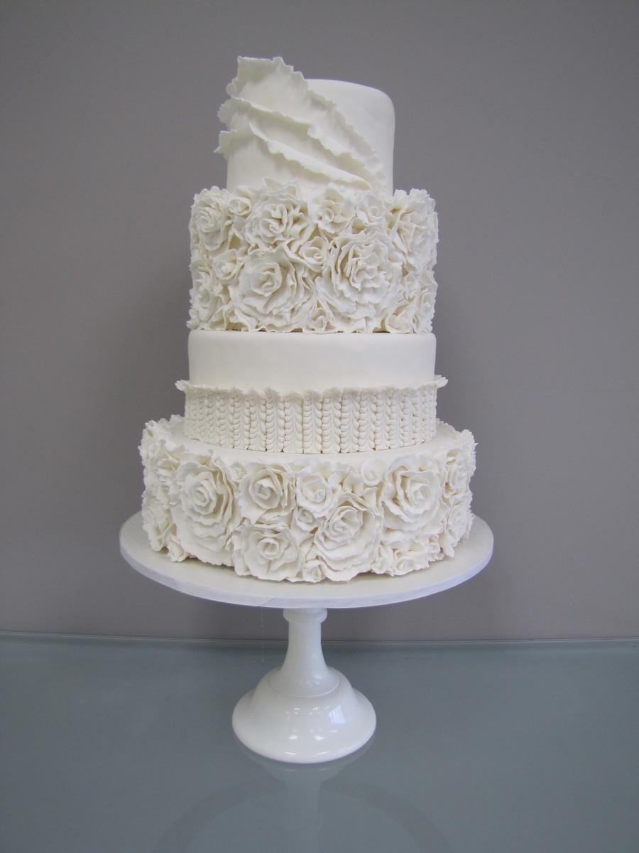 Sugar Ruffles Wedding Cakes