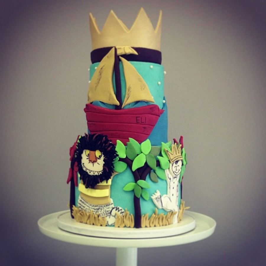 Where The Wild Things Are Cake on Cake Central