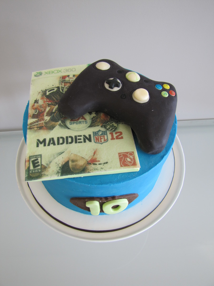 Madden Football/xbox Birthday Cake on Cake Central