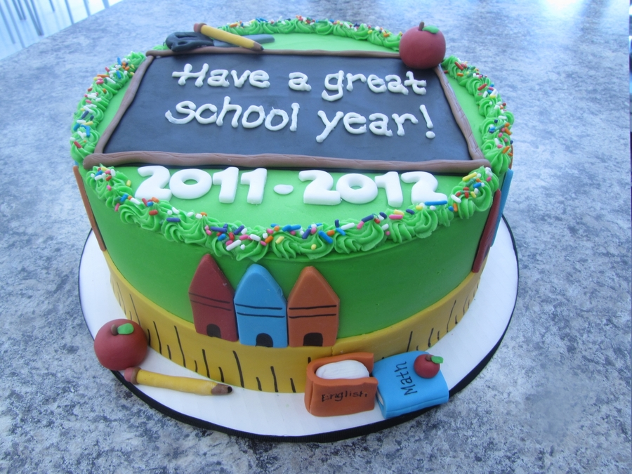Back To School Cake on Cake Central