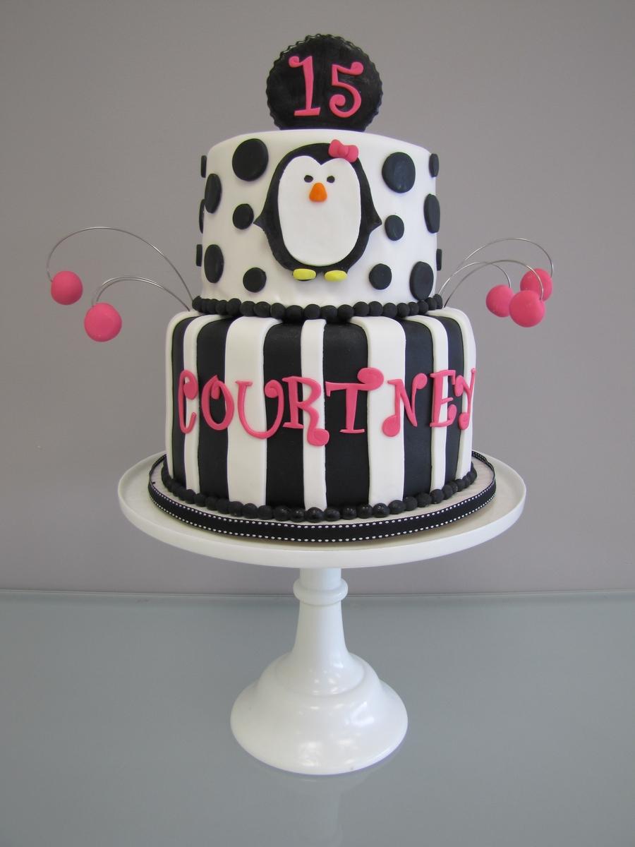 Penguin Birthday Cake Cakecentral