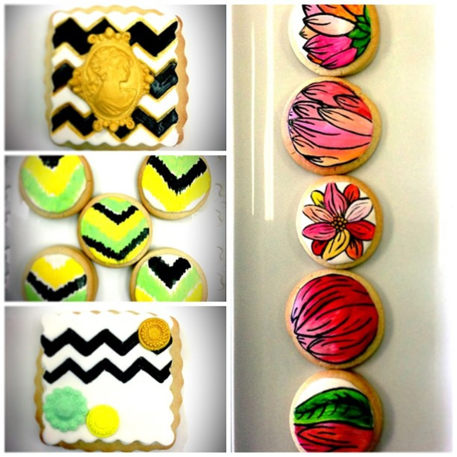 Handpainted Cookies For Wedding Favors on Cake Central