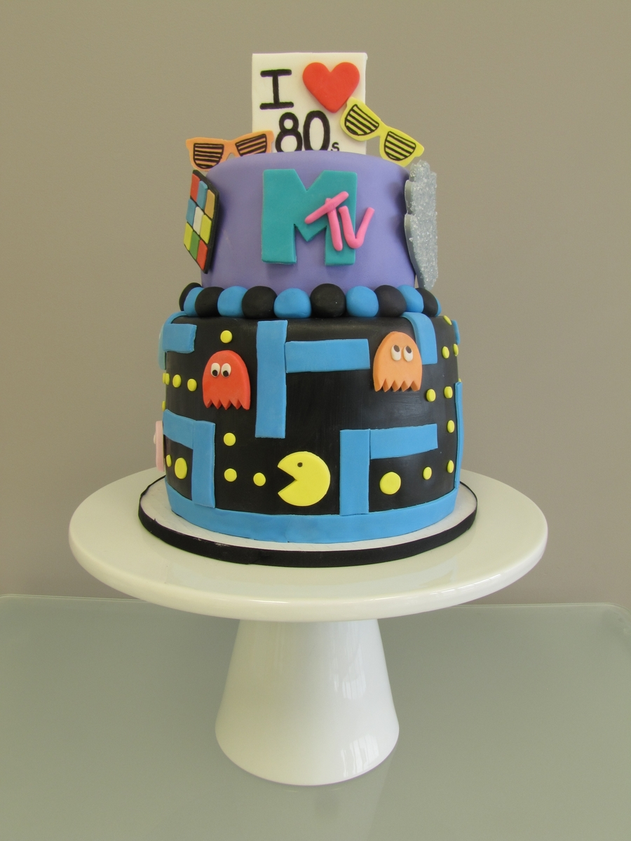 I Love The 80S Cake on Cake Central