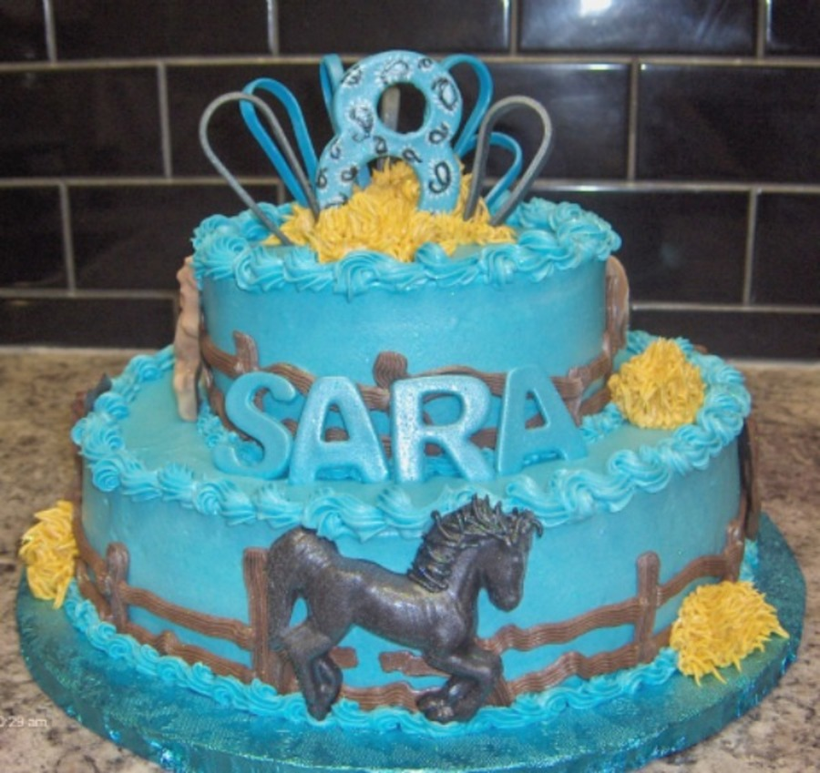 Horse Themed Cake on Cake Central