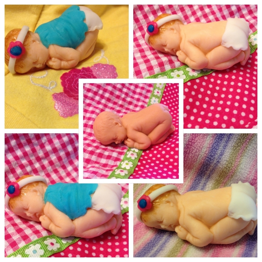 Baby Figurine Toppers on Cake Central