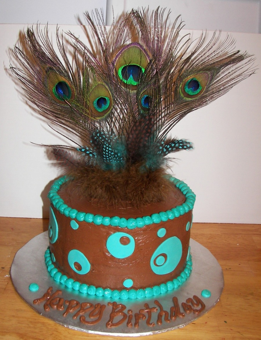 Peacock on Cake Central