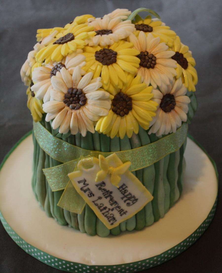 Cakecentral Com: Gerbera Bouquet Gift
