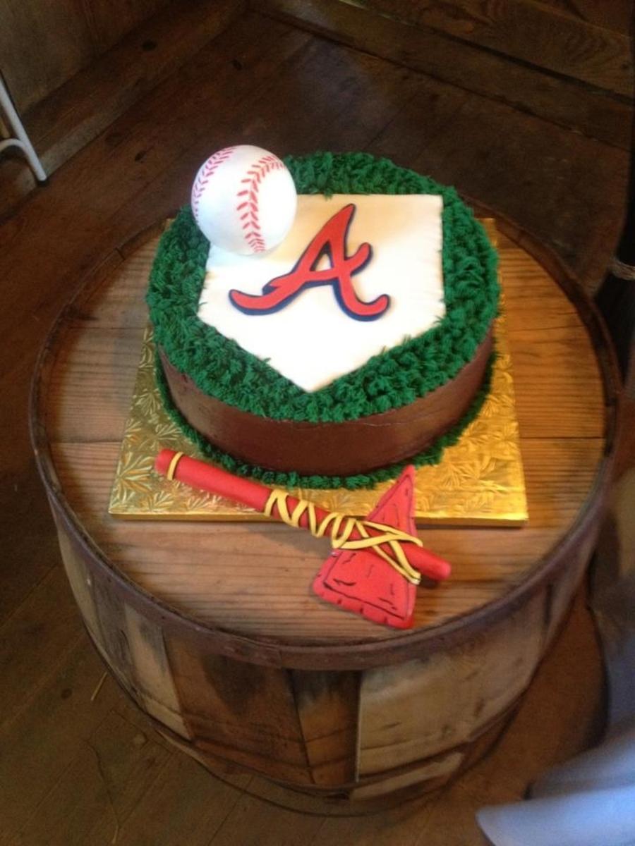 Atlanta Braves Cake Cakecentral Com