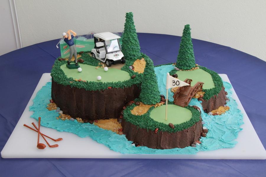 Golf 30th Birthday Cakecentral Com