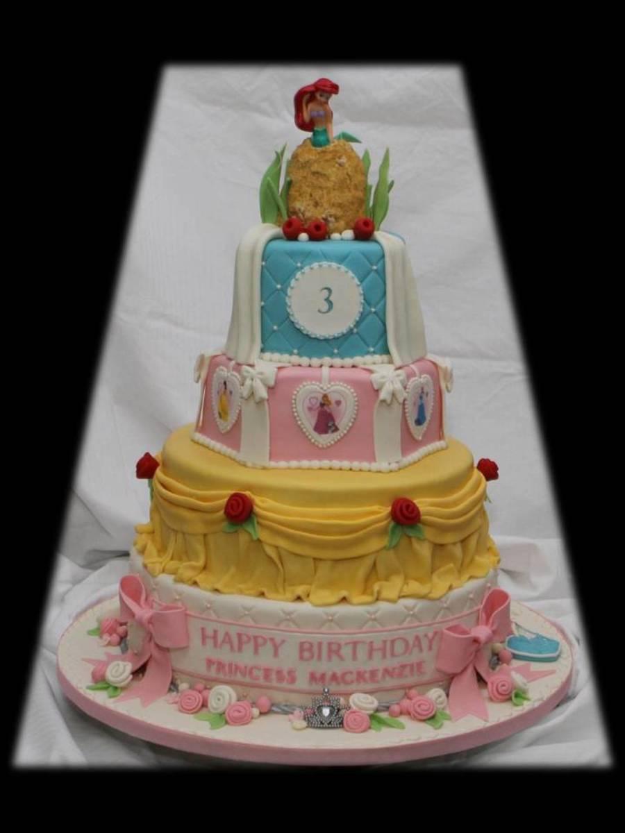 Disney World Birthday Cake Pictures