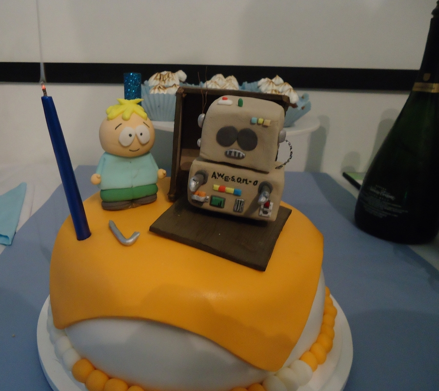 South Park?s Cake - Awesomo on Cake Central