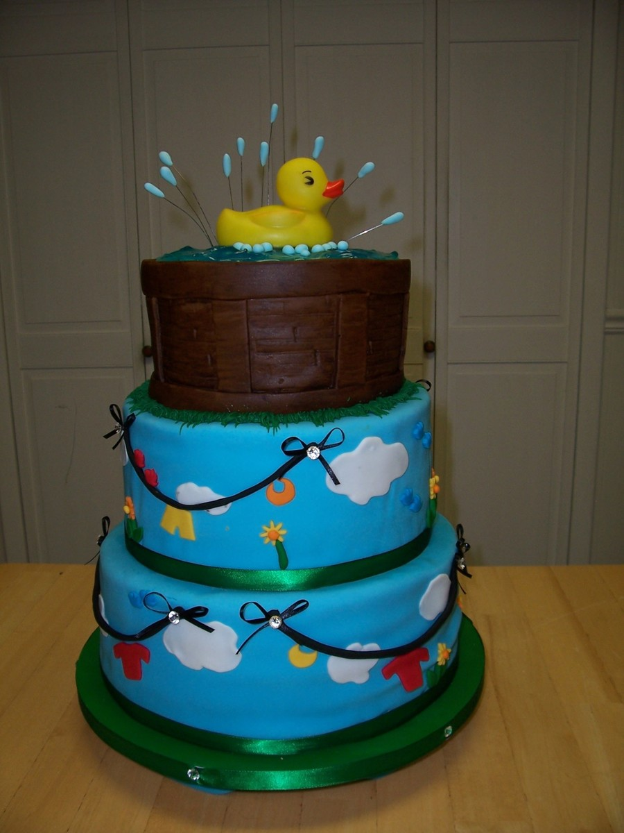 Rubber Duckie Baby Shower on Cake Central