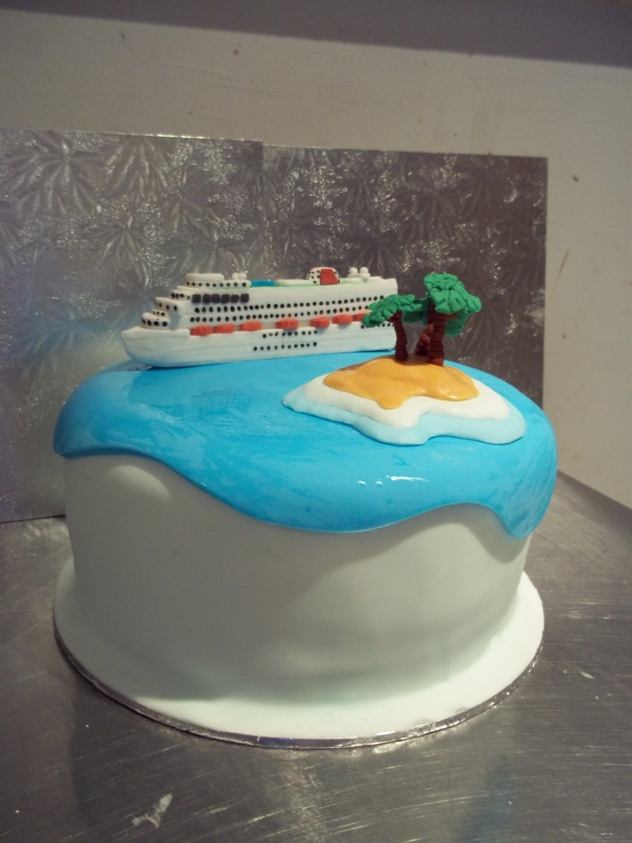 ship wedding cake cruise ship wedding cake cakecentral 19781