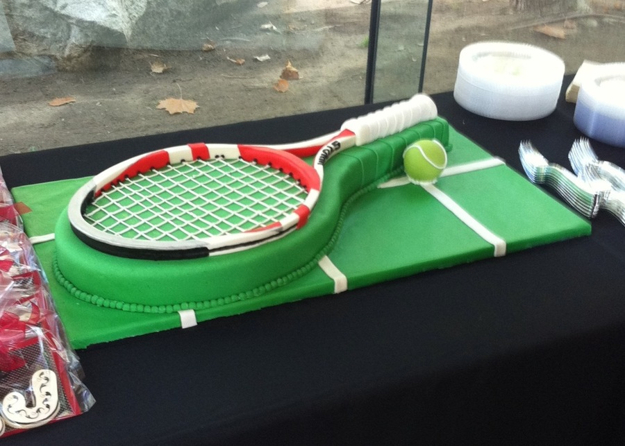 Tennis Cake on Cake Central