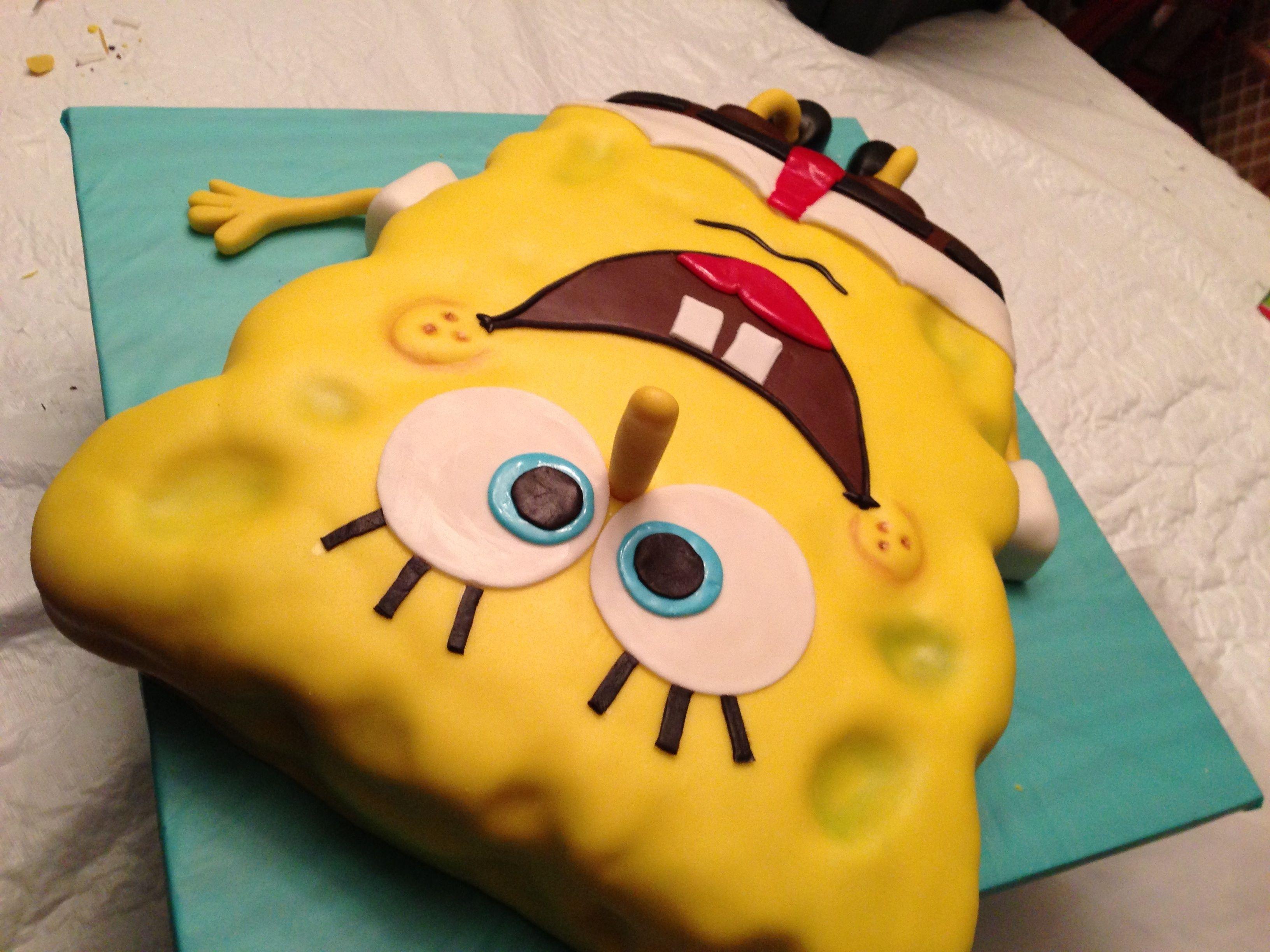 Spongebob - CakeCentral.com