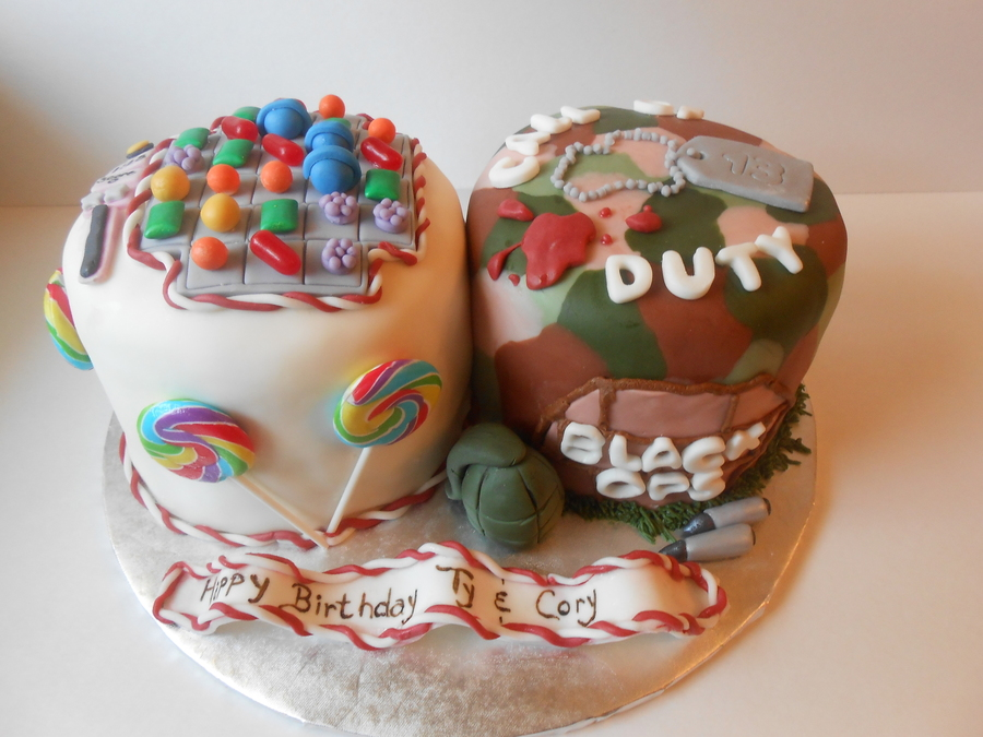 Candy Crush Black Ops Birthday Cakecentral