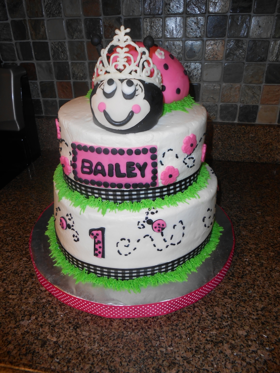 Princess Ladybug Cake on Cake Central