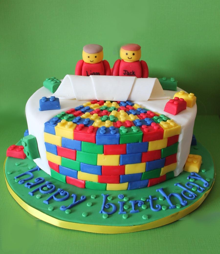 Lego Cake - CakeCentral.com