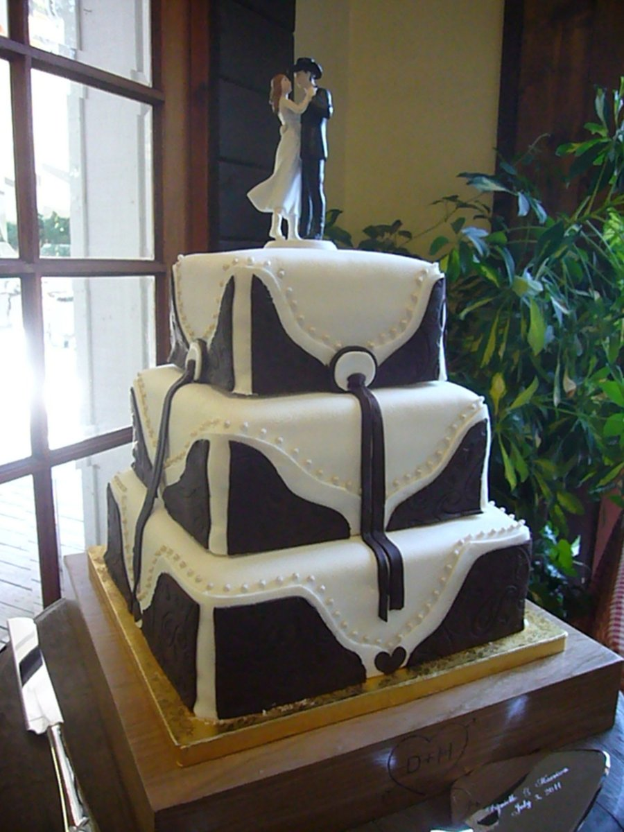 Country wedding cakes pictures - Country Themed Wedding Cake On Cake Central