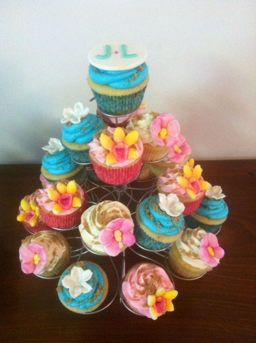 Hawaiian Themed Cakes And Cupcakes