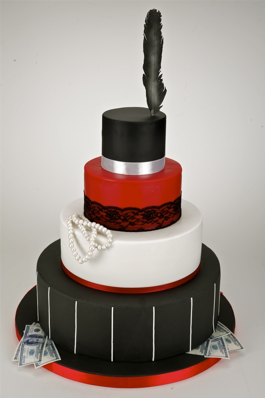 Chicago 1930's Style Wedding  on Cake Central