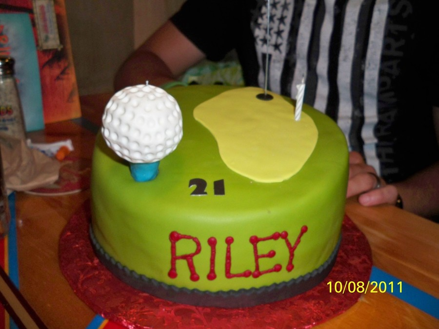 Golf Pro In The Making on Cake Central