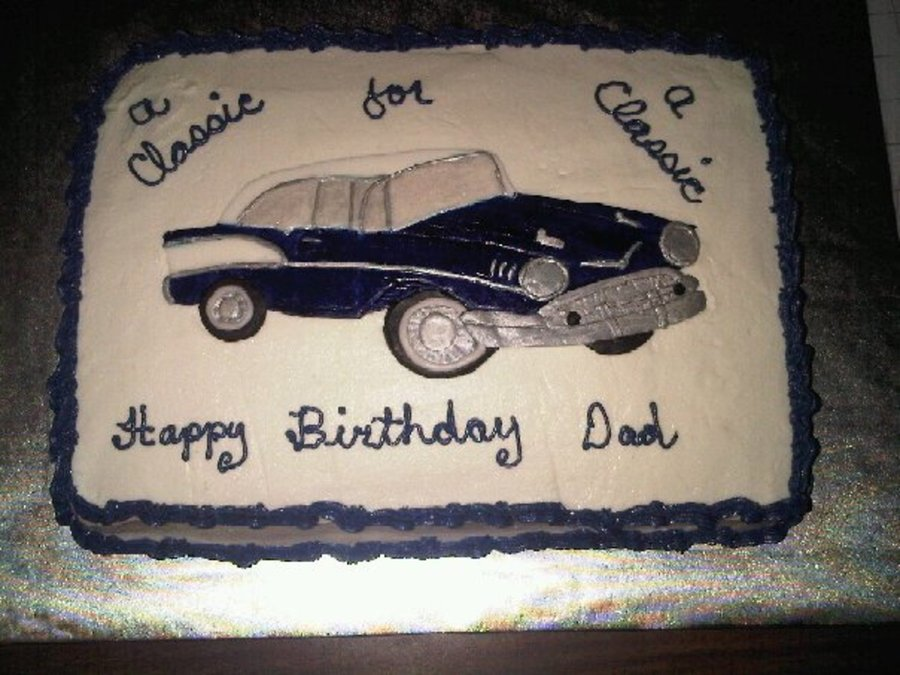 57 Chevy on Cake Central