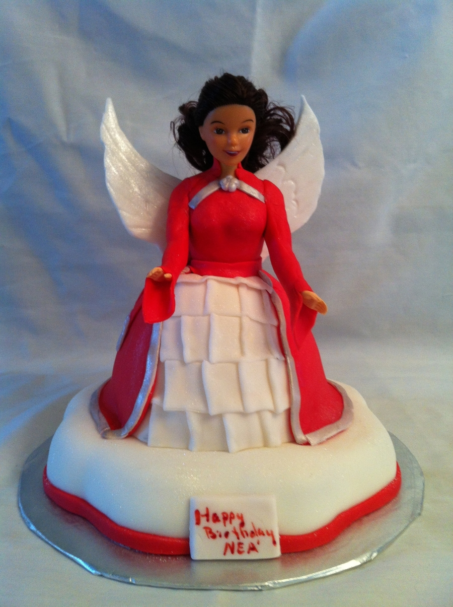 Nea's Angel on Cake Central