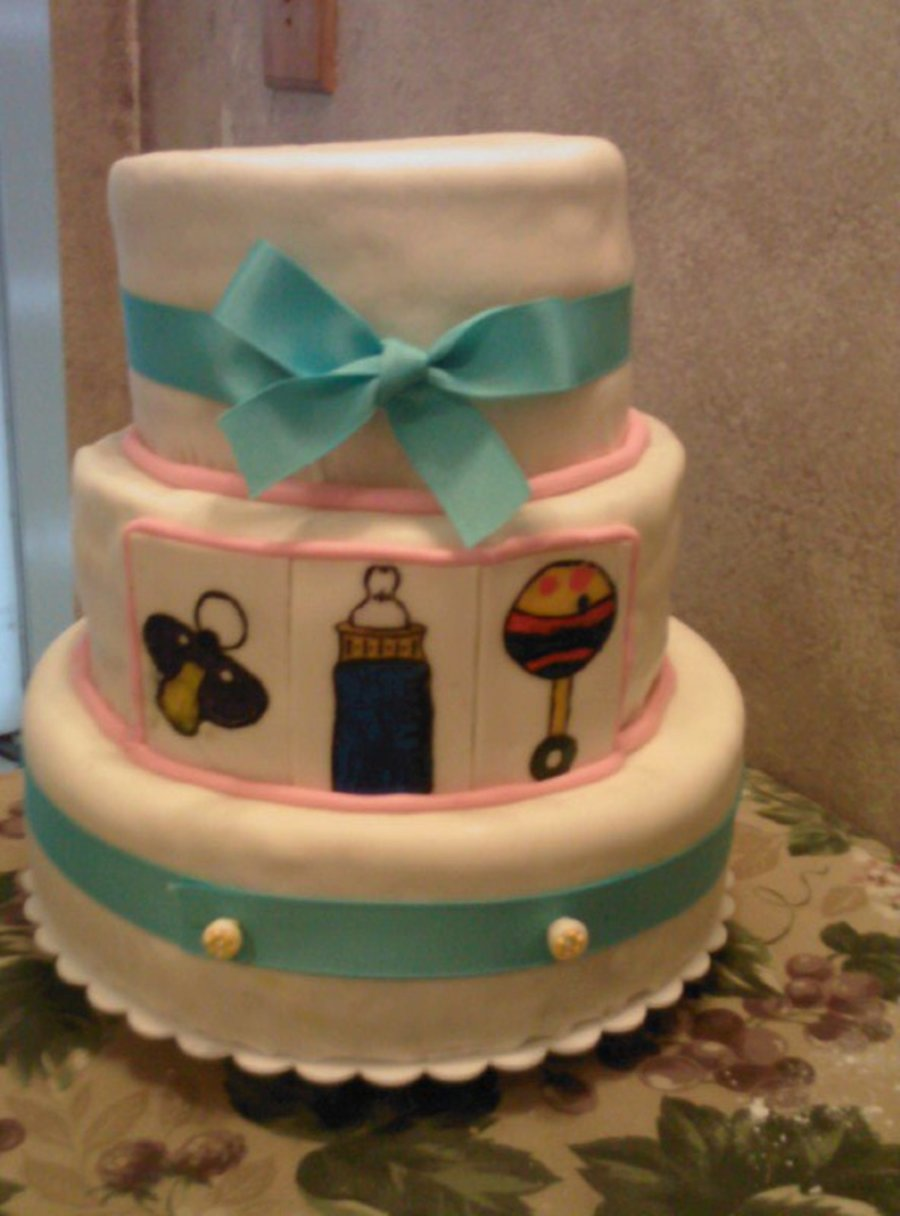 Baby Shower 6/11/11 on Cake Central