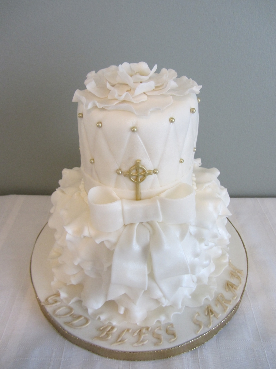 White Ruffles on Cake Central