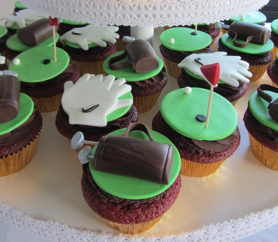 Golf Cupcakes - CakeCentral.com