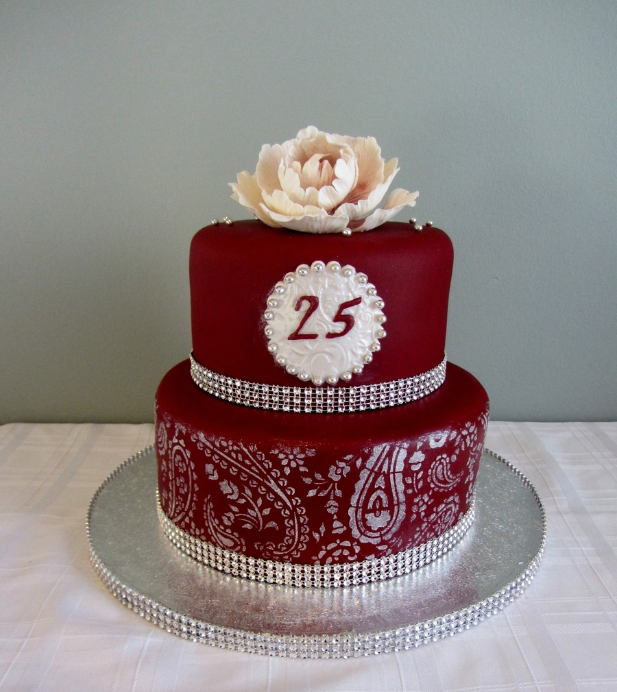 25 Pubjabi Anniversary on Cake Central