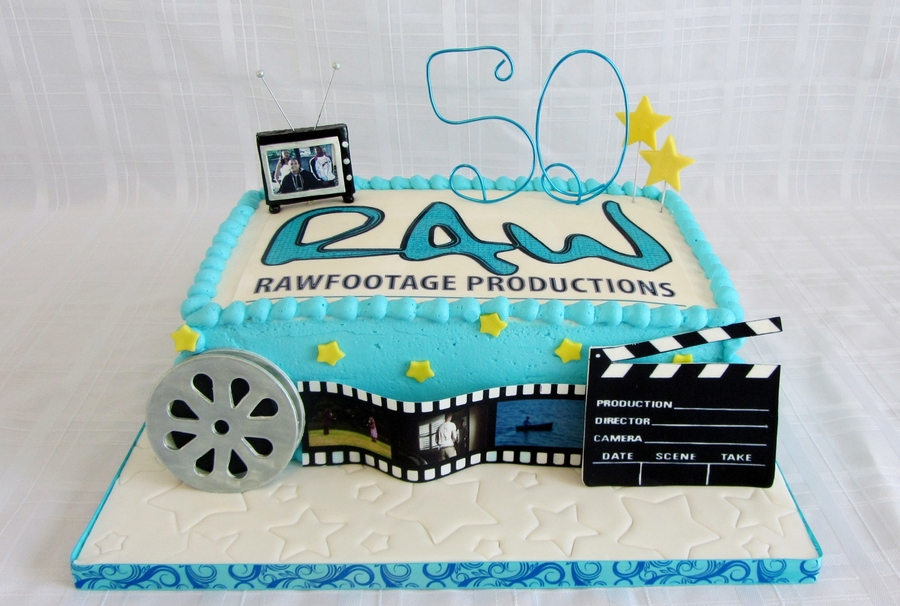 50Th Anniversary For Raw Productions on Cake Central