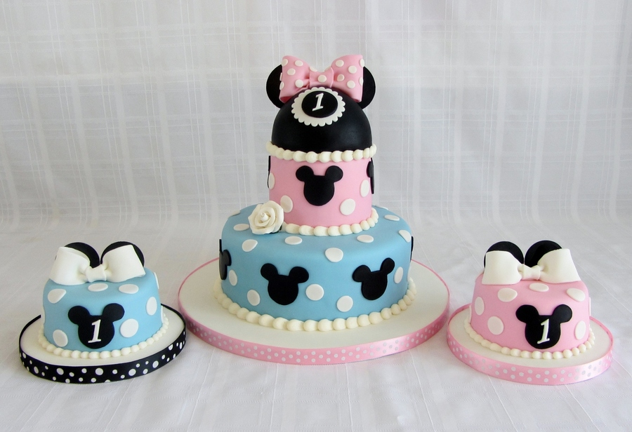 Mickey And Mini Mouse on Cake Central