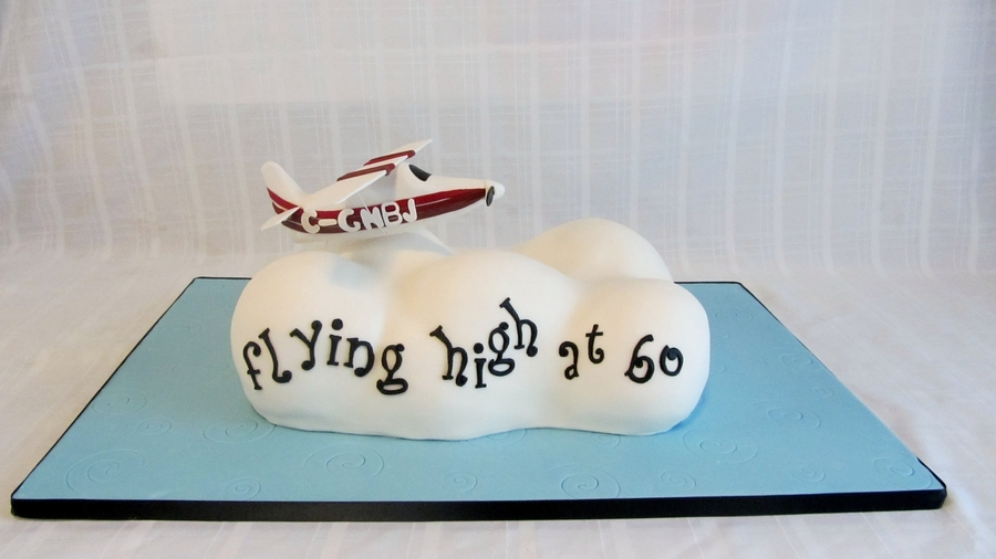 Flying High At 60 on Cake Central