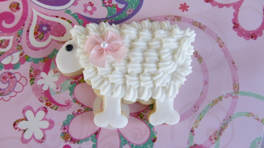 Lamb Cookie on Cake Central