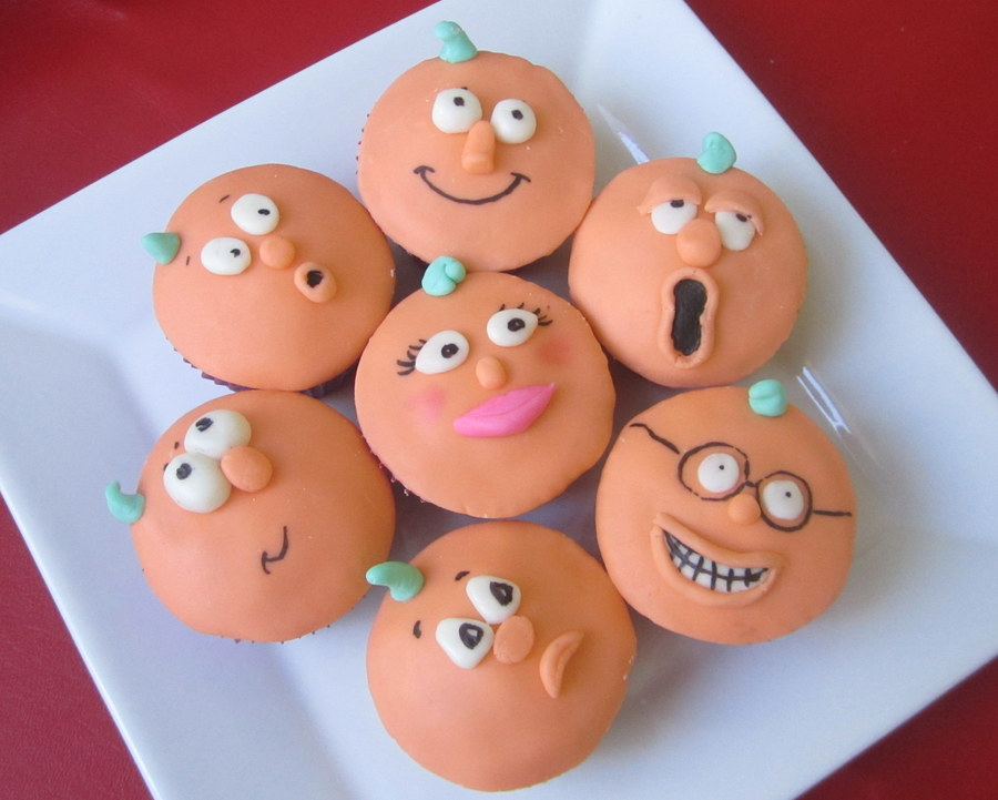 Pumpkin People on Cake Central
