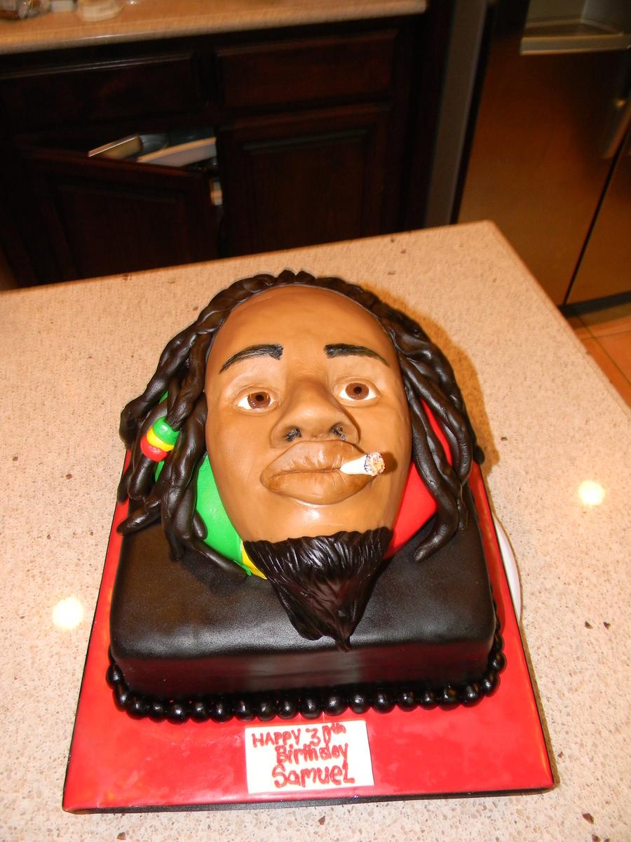 Bob Marley Rasta Man Cake Cakecentral Com