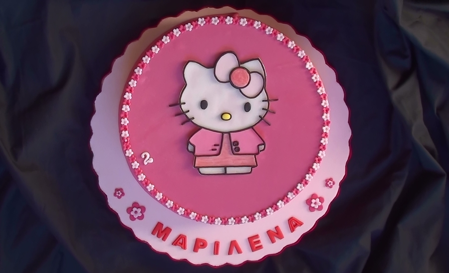 Hello Kitty Fashion Victim Ii  on Cake Central