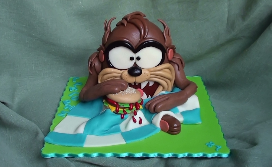 Tasmanian Devil on Cake Central