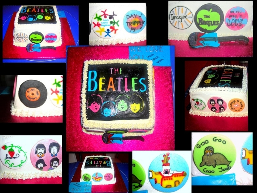 The Beatles Cake on Cake Central