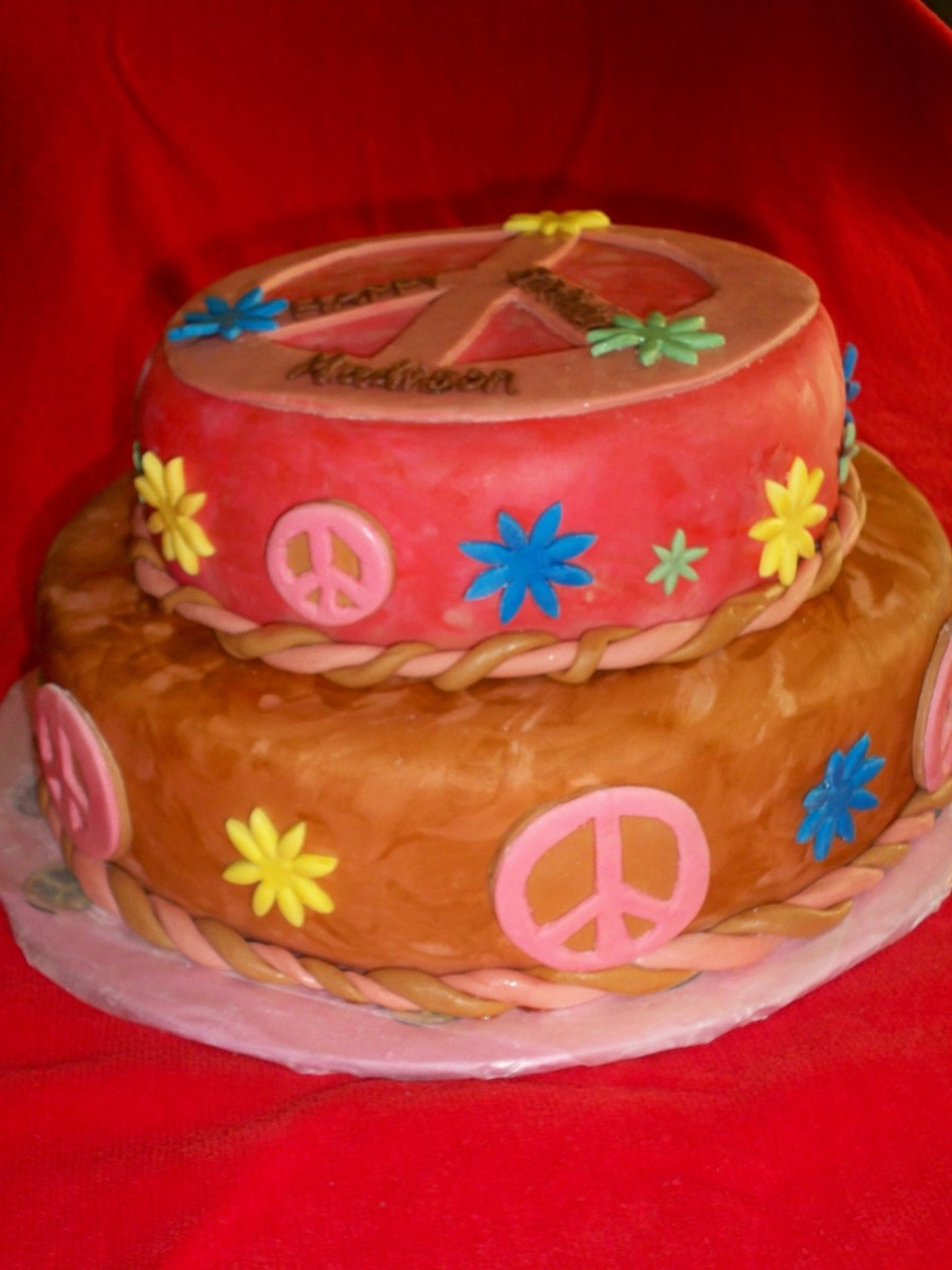 Peace Cake on Cake Central