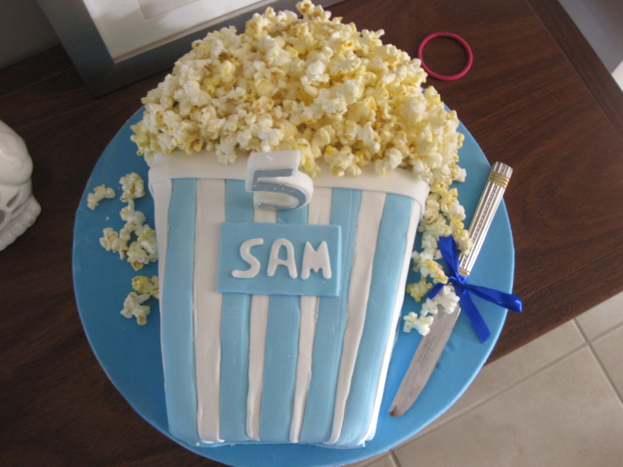 Pop Corn on Cake Central
