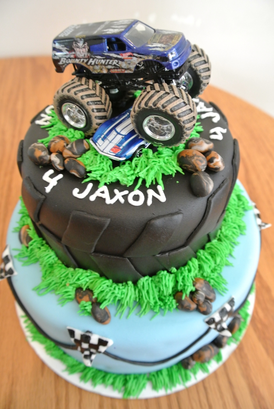 Monster Truck Birthday Cakecentral Com