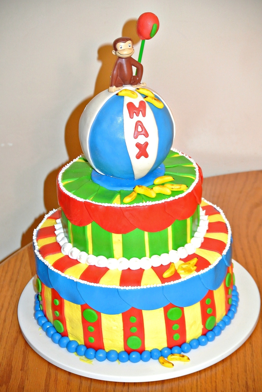 Curious George Cakes Design
