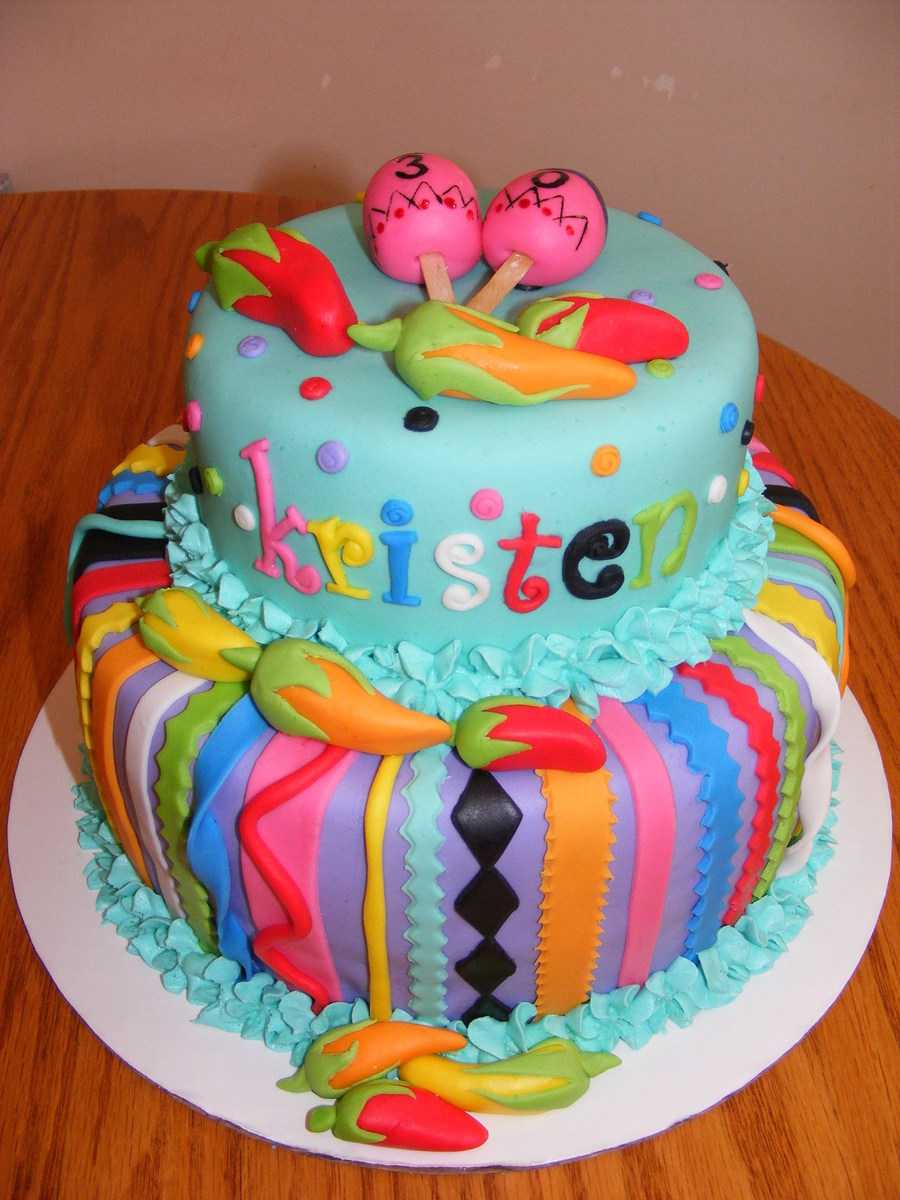 mexican fiesta birthday cakecentralcom