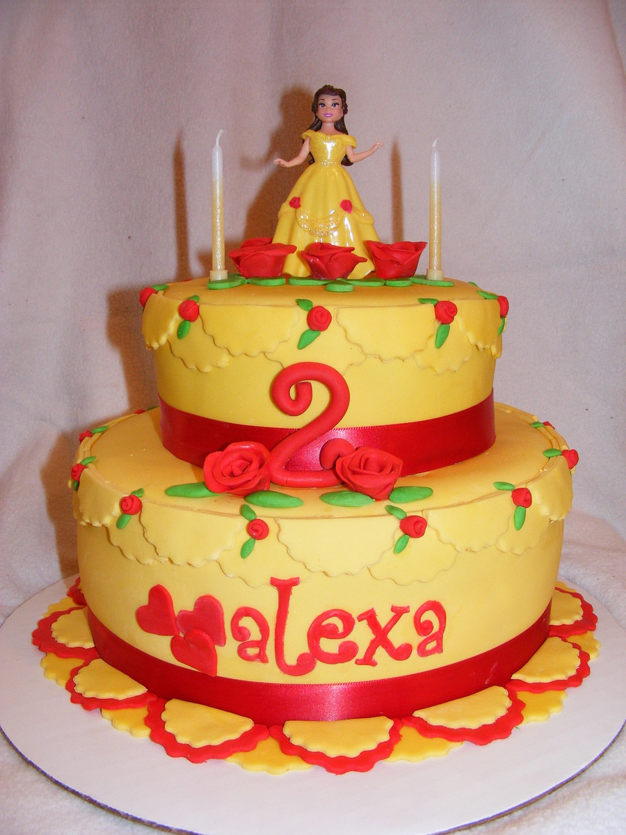 Belle Birthday on Cake Central